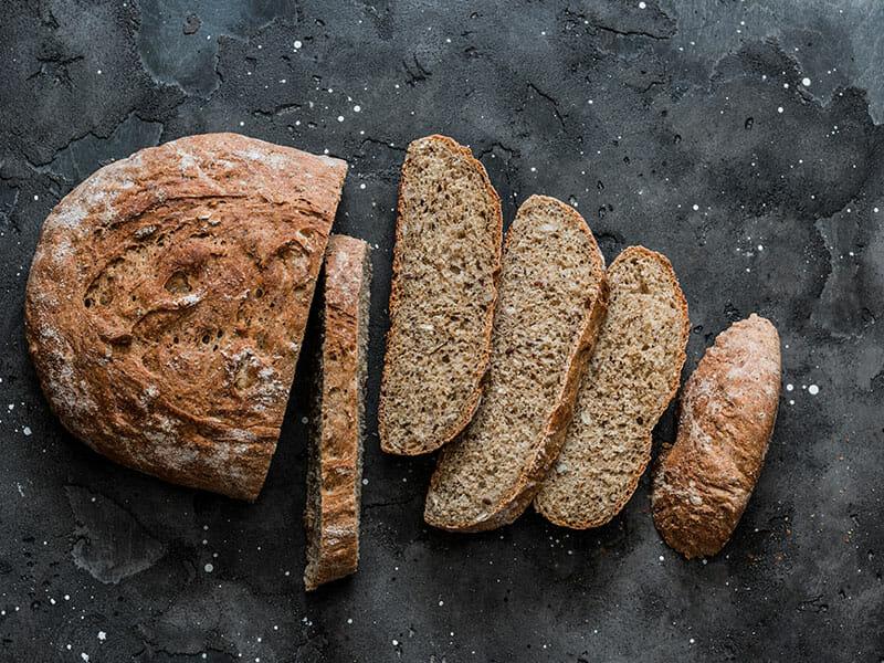 Pão de Trigo Sarraceno e Sementes